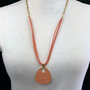 Jewelry - Beautiful long peach necklace